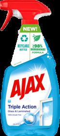 Płyn do mycia szyb Ajax Optimal 7, z rozpylaczem, 500ml