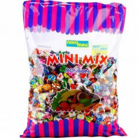 Cukierki Mini Nikomag, mix owocowy, 1kg