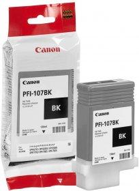 Tusz Canon 6705B001 (PFI-107BK), 130 ml, czarny