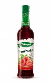 Syrop Herbapol Owocowa Spiżarnia, truskawka, 420 ml