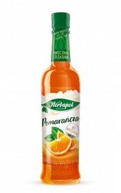Syrop Herbapol Owocowa Spiżarnia, pomarańcza, 420ml