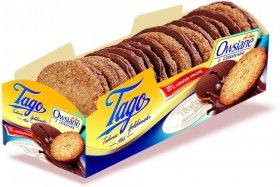Ciastka owsiane Tago De Lux, z mleczną czekoladą, 210g