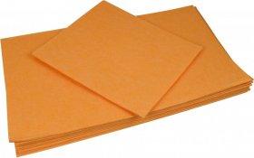 Ścierka do podłogi IMPORT 50x60 cm, 140g/m2, pomarańczowy