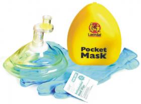 Maska do sztucznego oddychania Laerdal Pocket Mask