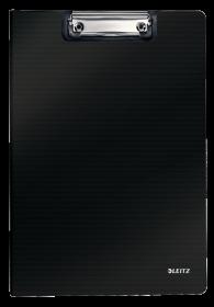 Podkład do pisania Leitz Solid , z okładką,  A4, czarny