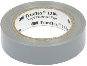 Taśma izolacyjna 3M Temflex 1300, PVC, DE272962825, 19mm x 20m, biały