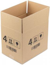 Karton klapowy Ofix Economy, 310x225x270 mm, brązowy