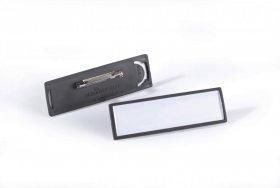 Identyfikatory Clip Card 17 x 67 mm zapinany na agrafkę 25 szt.