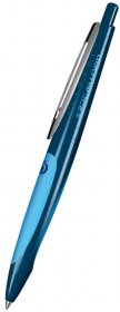 Długopis wymazywalny Herlitz, my.pen, niebieski/jasnoniebieski