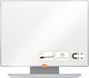 Tablica suchościeralno-magnetyczna Nobo Nano Clean, stal lakierowana, w ramie aluminiowej, 120x90cm, biały