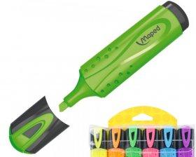Zakreślacz Maped Fluo Peps, ścięta, 6 sztuk, 5 mm, mix kolorów