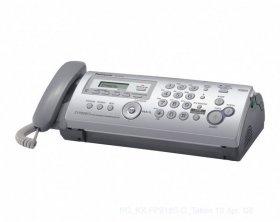 Faks Panasonic KX-FP207PD-S, srebrny