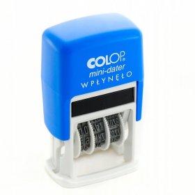 Datownik Colop Mini S160, z hasłem