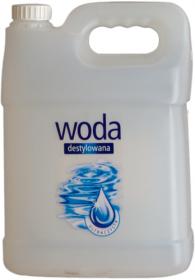 Woda destylowana Kamix, 5l