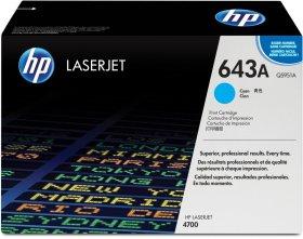 Toner HP 643A (Q5951A), 10000 stron, cyan (błękitny)