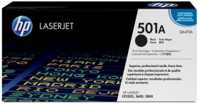Toner HP 501A (Q6470A), 6000 stron, black (czarny)