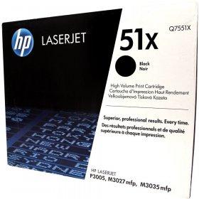 Toner HP 51X (Q7551X), 13000 stron, black (czarny)