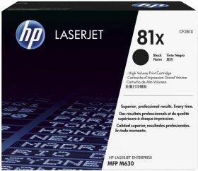 Toner HP 81X (CF281X), 25000 stron, black (czarny)