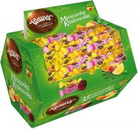 Cukierki mieszanka Krakowska Wawel, w czekoladzie, 2.8kg