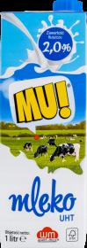 Mleko UHT Wart-Milk MU!, 2%, 1l