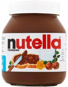 Krem Nutella Ferrero, czekoladowo-orzechowy, 600g