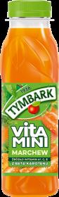 Sok Vitamini Tymbark, marchew, butelka PET, 0.3l