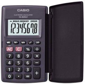Kalkulator kieszonkowy Casio HL-820LV-S BK, 8 cyfr, czarny