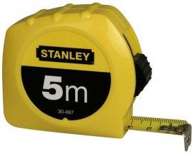 Miara zwijana Stanley, 19mmx5m, z blokadą, żółty