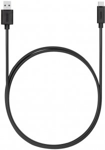 Kabel USB Typ C - USB 3.1 Unitek Y-C474BK+, 1m, czarny