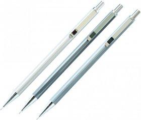 Ołówek automatyczny Deli 6490, 0.5mm, mix kolorów srebrnych