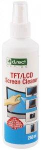 Płyn do czyszczenia ekranów TFT/LCD D.Rect, 250 ml