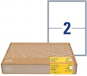 Etykiety wysyłkowe Avery Zweckform, A4, 199.6x143.5mm, 300 arkuszy, biały