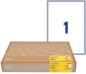 Etykiety wysyłkowe Avery Zweckform, A4, 199.6x289.1mm, 300 arkuszy, biały