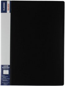 Album ofertowy Biurfol Classic, A4, 10 koszulek, czarny