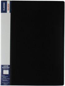 Album ofertowy Biurfol Classic, A4, 30 koszulek, czarny