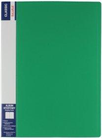 Album ofertowy Biurfol Classic, A4, 30 koszulek, zielony