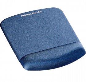 Podkładka piankowa pod mysz i nadgarstek Fellowes PlushTouch, 200x245x20mm, niebieski