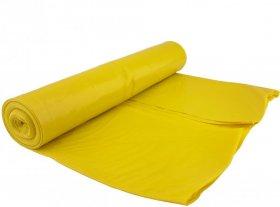 Worki na śmieci, LD, 60l, 20 sztuk, żółty