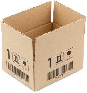 Karton klapowy Ofix Economy, 200x150x100mm, brązowy