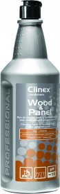 Płyn do mycia drewnianych podłóg i paneli Clinex Wood&Panel, skoncentrowany, 1l