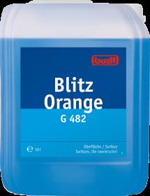 Płyn uniwersalny Buzil Blitz Orange G482, 10l, pomarańczowy