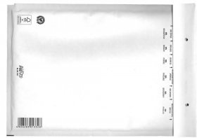Koperta bąbelkowa Bong AirPro, G/17, 250x350mm [W7], 100 sztuk, biały