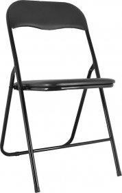 Krzesło składane VIG czarne