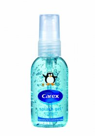 Żel do rąk Carex, Splash, antybakteryjny, 50ml