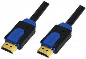 Kabel HDMI 1.4 LogiLink, Color Box, M/M, 2m, czarny