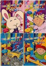 Kolorowanka Interdruk Rysuj i Pisz, B5, 16 kartek, mix wzorów