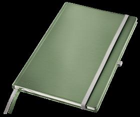 Notatnik w kratkę Leitz Style, A4, twarda oprawa, 80 kartek, seledynowy