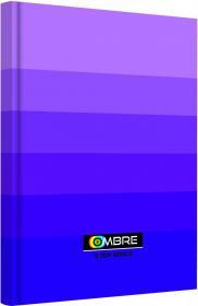 Brulion w kratkę TOP 2000 Ombre, A4, twarda oprawa, 96 kartek, fioletowy