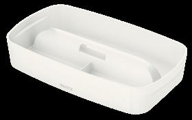 Organizer z uchwytem Leitz, MyBox, mały, 307x56x181mm, biały