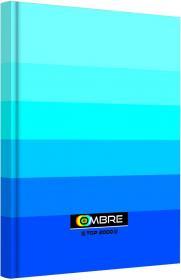 Brulion w kratkę TOP 2000 Ombre, A5, twarda oprawa, 96 kartek, niebieski